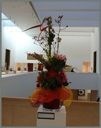 Click to read about the floral art